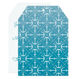 Anchor pattern card