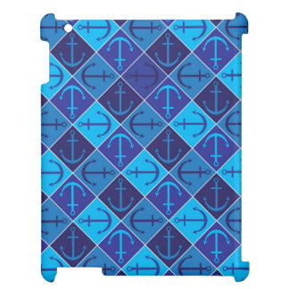 Anchor pattern case for the iPad