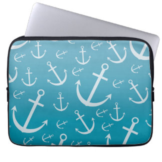 Anchor pattern computer sleeve