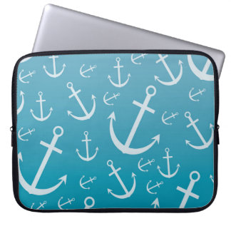 Anchor pattern computer sleeves