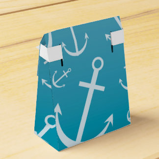 Anchor pattern favor box