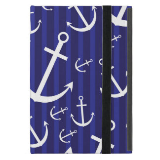 Anchor pattern iPad mini covers
