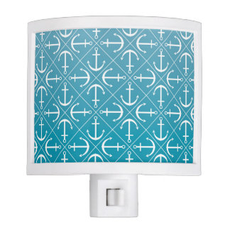 Anchor pattern night lights