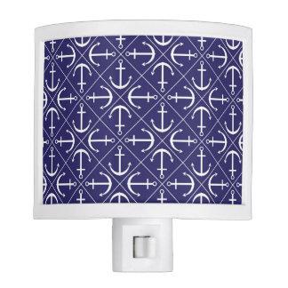 Anchor pattern nite light
