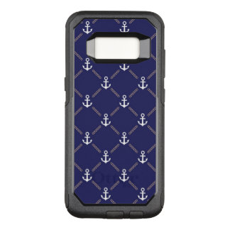 Anchor pattern OtterBox commuter samsung galaxy s8 case
