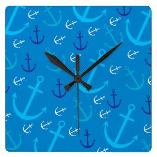 Anchor pattern wallclock