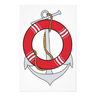 Anchor Preserver Stationery Design