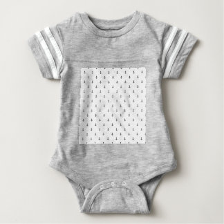 Anchor seamless texture baby bodysuit
