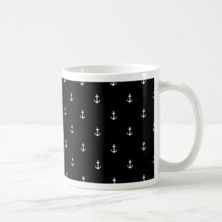 Anchor seamless texture coffee mug