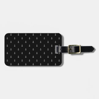 Anchor seamless texture luggage tag