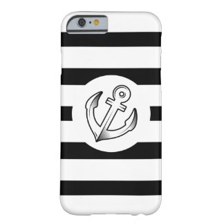 Anchor & Stripes Barely There iPhone 6 Case