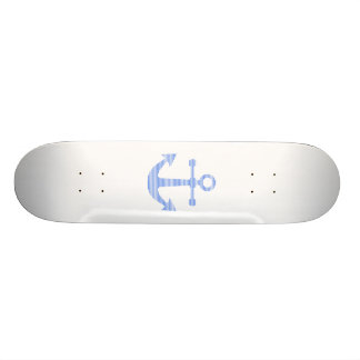 Anchor - strips - blue and white. skate boards