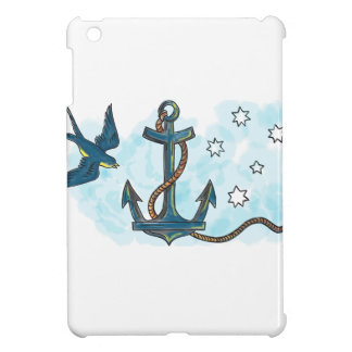 Anchor Swallow Southern Star Tattoo Case For The iPad Mini