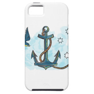 Anchor Swallow Southern Star Tattoo iPhone 5 Cover