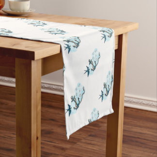 Anchor Swallow Southern Star Tattoo Short Table Runner