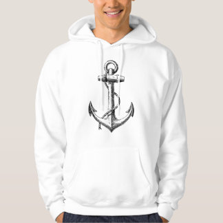 Anchor Tattoo Style Image Hoodie