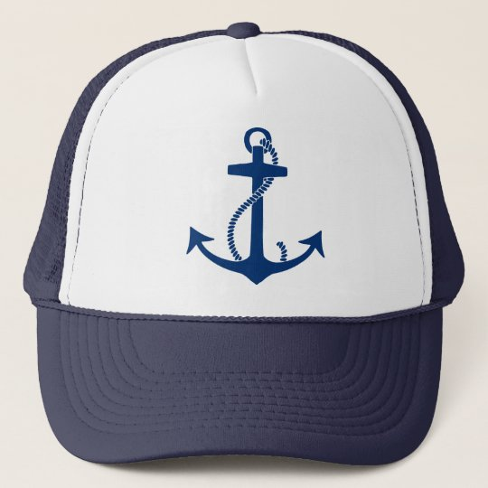 Anchor Trucker Hat