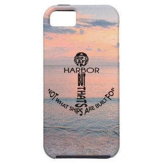 Anchor Typography iPhone 5 Case