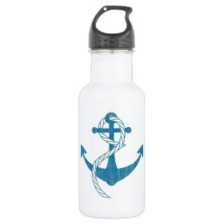 Anchor (Vintage Print) 532 Ml Water Bottle