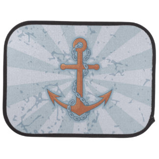 Anchor with Chain Auto Mat