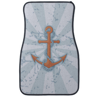 Anchor with Chain Floor Mat