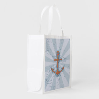 Anchor with Chain Reusable Grocery Bag