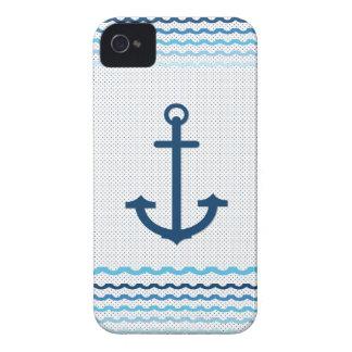 Anchor Yacht Boat Nautical Marine Sail  Car Mats Case-Mate iPhone 4 Cases