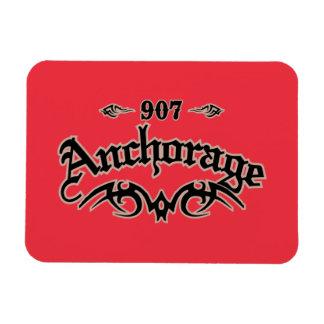 Anchorage 907 rectangular photo magnet