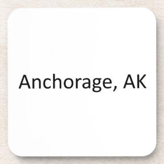 Anchorage, AK Beverage Coaster