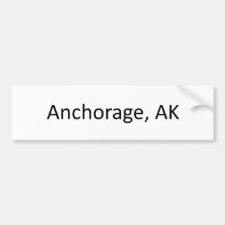 Anchorage, AK Bumper Sticker