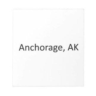 Anchorage, AK Notepad