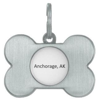 Anchorage, AK Pet ID Tag