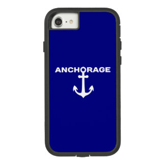 Anchorage - Alaska iPhone 7 Case. Case-Mate Tough Extreme iPhone 8/7 Case