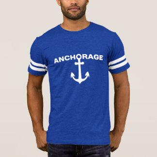 Anchorage - Alaska Men's Football T-Shirt. T-Shirt