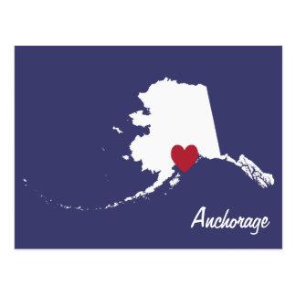 Anchorage Alaska Postcard