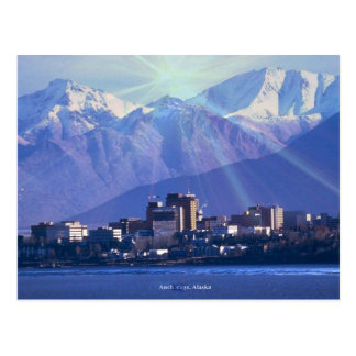 Anchorage, Alaska Postcard