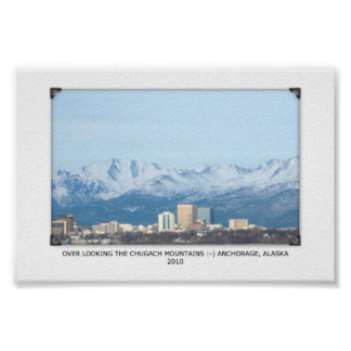 Anchorage, Alaska Poster