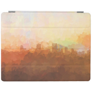 Anchorage Alaska Skyline IN CLOUDS iPad Cover