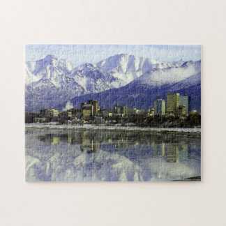 Anchorage Alaska Skyline Puzzles