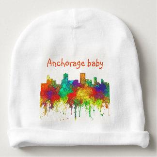 Anchorage Alaska Skyline-SG Baby Beanie