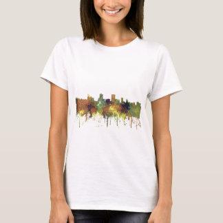 Anchorage Alaska Skyline SG-Safari Buff T-Shirt
