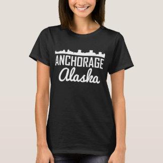Anchorage Alaska Skyline T-Shirt