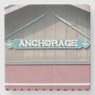Anchorage, Boat Dock, Lake Burton,Georgia Coaster Stone Beverage Coaster