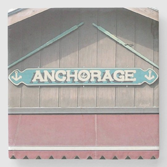 Anchorage, Boat Dock, Lake Burton,Georgia Coaster Stone Beverage Coaster