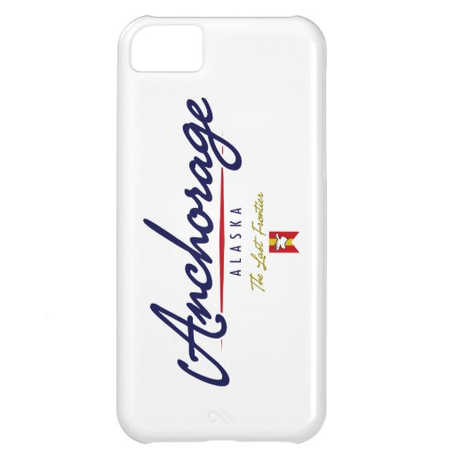 Anchorage Script iPhone 5C Covers