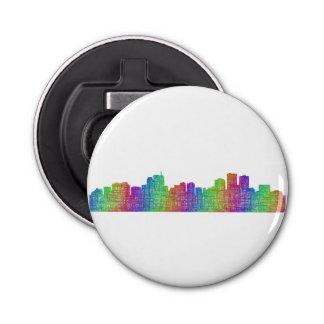 Anchorage skyline button bottle opener