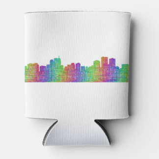Anchorage skyline can cooler