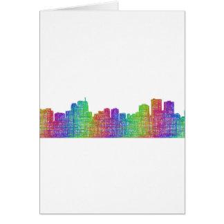 Anchorage skyline card