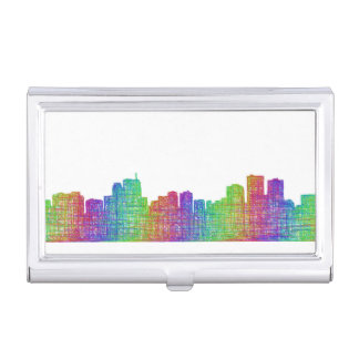 Anchorage skyline case for business cards