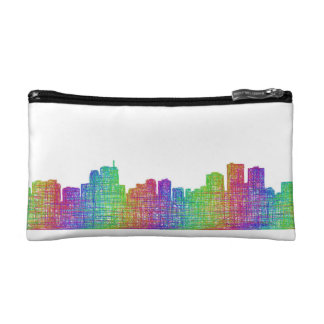 Anchorage skyline cosmetics bags